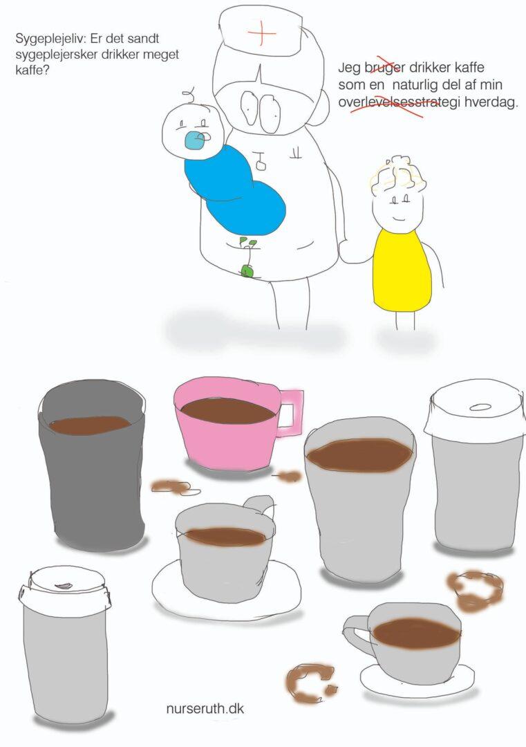 Sygeplejeliv: Kaffe, en overlevelsesstrategi