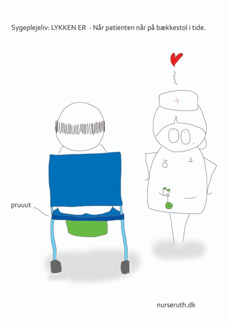 Sygeplejeliv: Lykken er et bundskift mindre